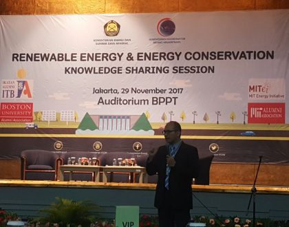 Renewable Energy & Energy Conservation Knowledge Sharing Session